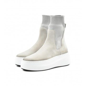 VIC MATIE - Damen Sneaker - Tronc. Nabuk 110 - ICE