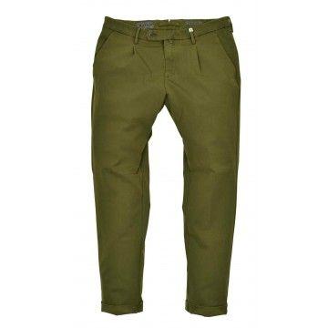 MYTHS - Herren Hose - Performance Active Pantalone Lungo - Verde