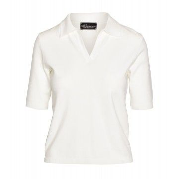 PRINCESS GOES HOLLYWOOD - Damen Poloshirt - Basic Polo - Bright White