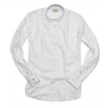 FIL NOIR - Herren Hemd - Milano - White