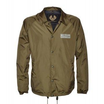 BELSTAFF - Herren Jacke - Teamster Jacket Print - Sage Green