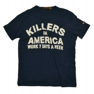 JOHNSON MOTORS - Herren T-Shirt - Killers - Dead Navy