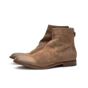 MOMA - Damen Schuhe - Tronchetto Donna Oliver - Taupe