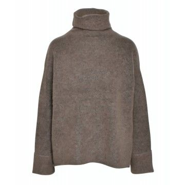 iHEART - Damen Pullover - Berta - Taupe