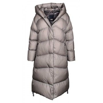 DUNO - Damen Daunenjacke - Alpes Casale - Light Stone