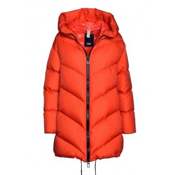 DUNO - Damen Steppjacke - Vela Casale - Orange