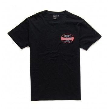 DEUS EX MACHINA - Herren T-Shirt - Chroma Shirt - Black