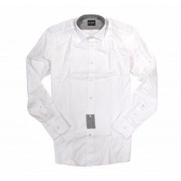 FIL NOIR - Herren Hemd - Style Nero Kent Slim Fit - White