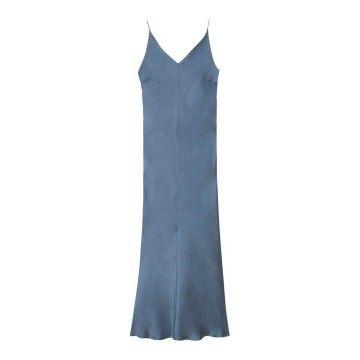 OTTOD´AME - Damen Kleid - Langes Viskosekleid - Delfino