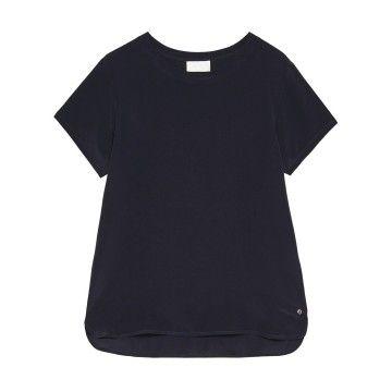 OTTOD´AME - Damen T-Shirt - Maglia - Blu