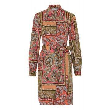 0039 ITALY - Damen Kleid - Gracia - Antik Bunt
