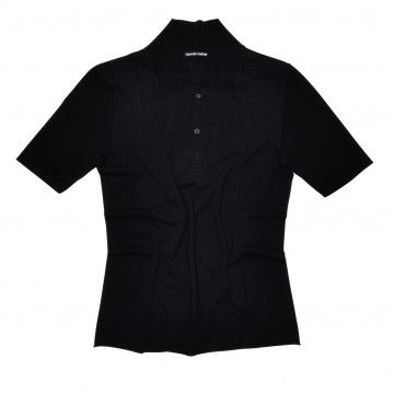 HANNES ROETHER - Herren Strickshirt Helgo - Black