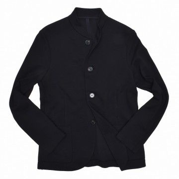 HARRIS WHARF LONDON - Herren Sakko - Men Bomber Blazer Cavalry Twill - Black