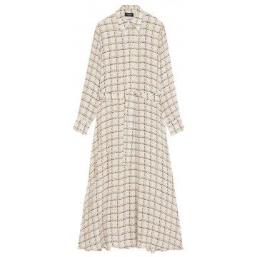 OTTOD´AME - Damen Kleid - Abito Dress - Vaniglia
