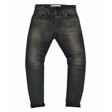 MASTERCRAFT UNION - Herrenjeans - Slim Taper 13,5 oz. - Black x Black