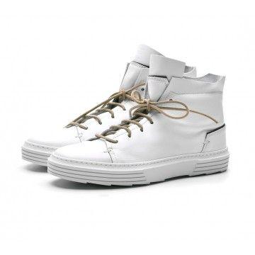MOMA - Damen Sneaker - Nausica 31901-PA - Bianco