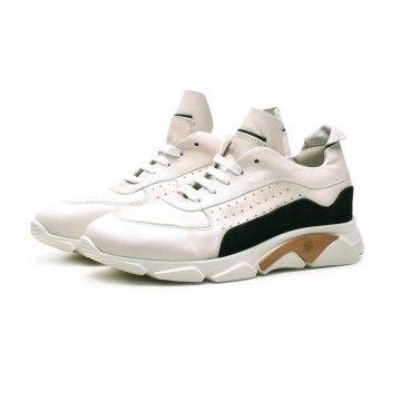 MOMA - Herren Schuhe - Sneaker Florence - Bianco -
