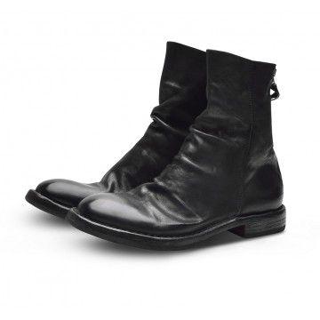 MOMA - Damen Schuhe - Stiefelette Bandolero - Nero