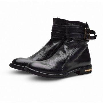 MOMA - Damen Schuhe - Stiefelette Cusna Vacchetta - Nero