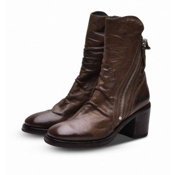 MOMA - Damen Schuhe - Stiefelette Bandolero Lizaro - Braun