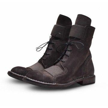MOMA - Damen Schuhe - Tronchetto Otterproof - Lavagna