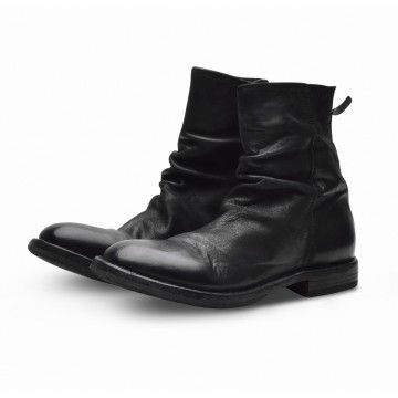 MOMA - Herren Schuhe - Stiefelette Bandolero - Nero