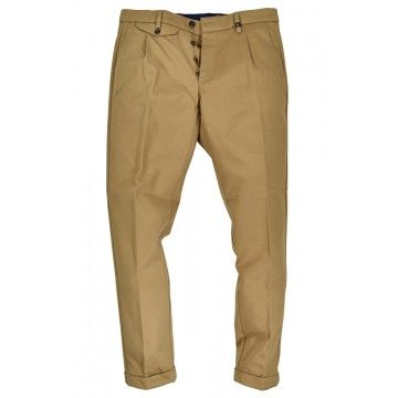 MYTHS - Herren Hose - Pantalone Japan Cotton - Beige