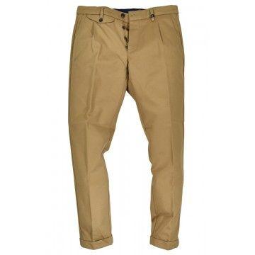 MYTHS - Herren Hose - Pantalone Japan Cotton - Beige