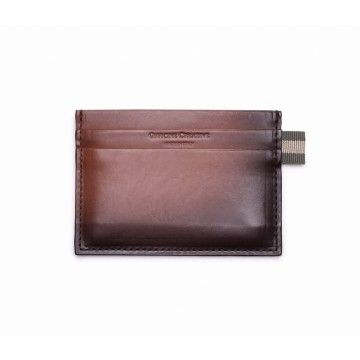 OFFICINE CREATIVE - Kartenhalter - Card Holder Boudin Dive - Marrone