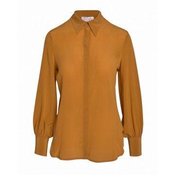 OTTOD´AME - Damen Bluse - Camicia - Senape