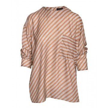 OTTOD´AME - Damen Bluse - Camicia - Shirt - white letters
