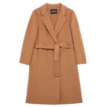 OTTOD'AME - Damen Mantel - Paltó Mittellang - Camel