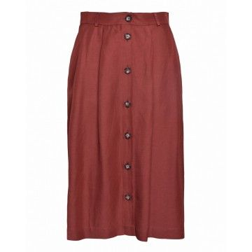 OTTOD`AME - Damen Rock - Skirt - Argilla -
