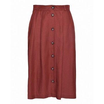 OTTOD`AME - Damen Rock - Skirt - Argilla -
