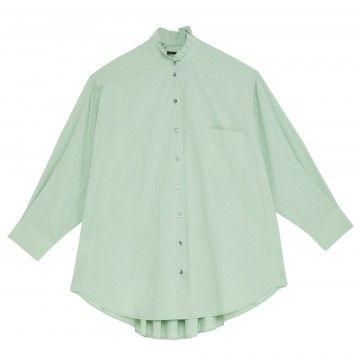 OTTOD´AME - Damen Bluse - Camicia Shirt - Limpido
