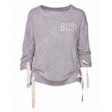 PRINCESS GOES HOLLYWOOD - Damen Sweater -  Kuschel Sweaty - Gainsboro -