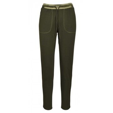 PRINCESS GOES HOLLYWOOD - Damen Hose - Tiko Pants - Khaki