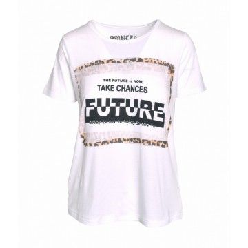 PRINCESS GOES HOLLYWOOD - T-Shirt - FutureNow Tee - White