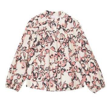 OTTOD´AME - Damen Bluse - Camciia - Shirt - Panna