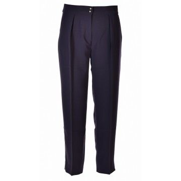 RICH & ROYAL - Damen Hose - Pant - Deep Blue