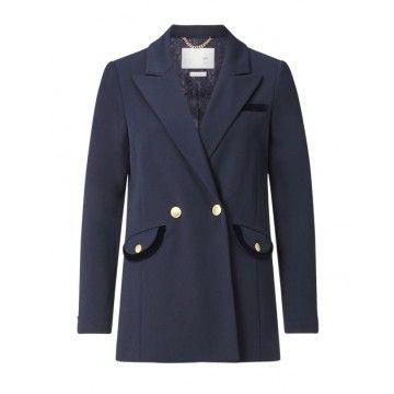 RICH & ROYAL - Damen Blazer - Navy
