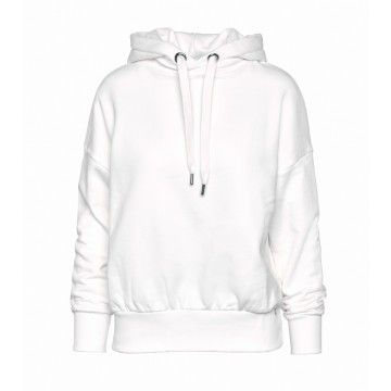 RICH & ROYAL - Damen Hoodie - Felpa - Pearl White