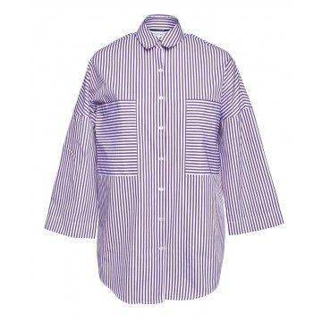 ROQA - Damen Bluse - Boxy Oversized Blouse