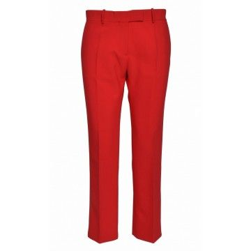 ROQA - Damen Hose - Trousers - Red