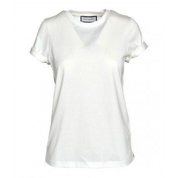 ROQA - Damen T-Shirt - Cream/Berry