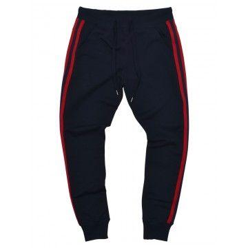 ROQA - Herren Jogger Navy - Stripes