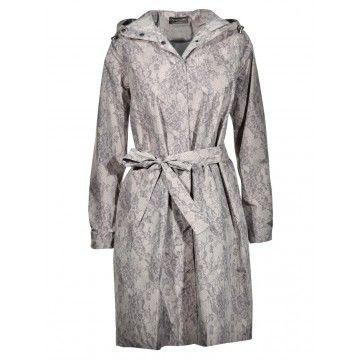 ROSEMUNDE - Damen Regenjacke - Coat ls - Dove