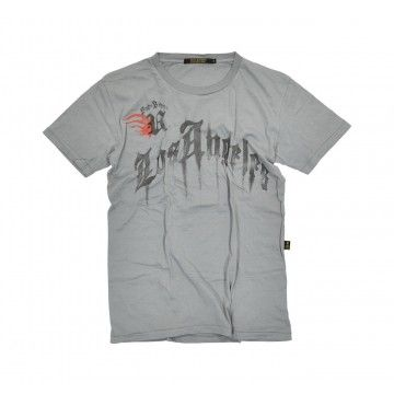 RUDE RIDERS - Herren T-Shirt - Los Rude - Grey