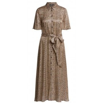 SET - Damen Kleid - Dress - Leoprint