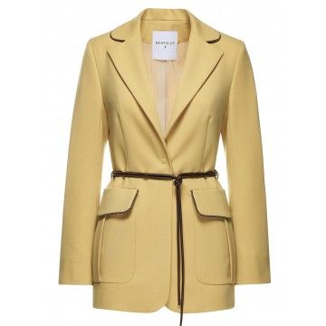 BEATRICE.B - Damen Blazer - Jacket 3754 - Gelb
